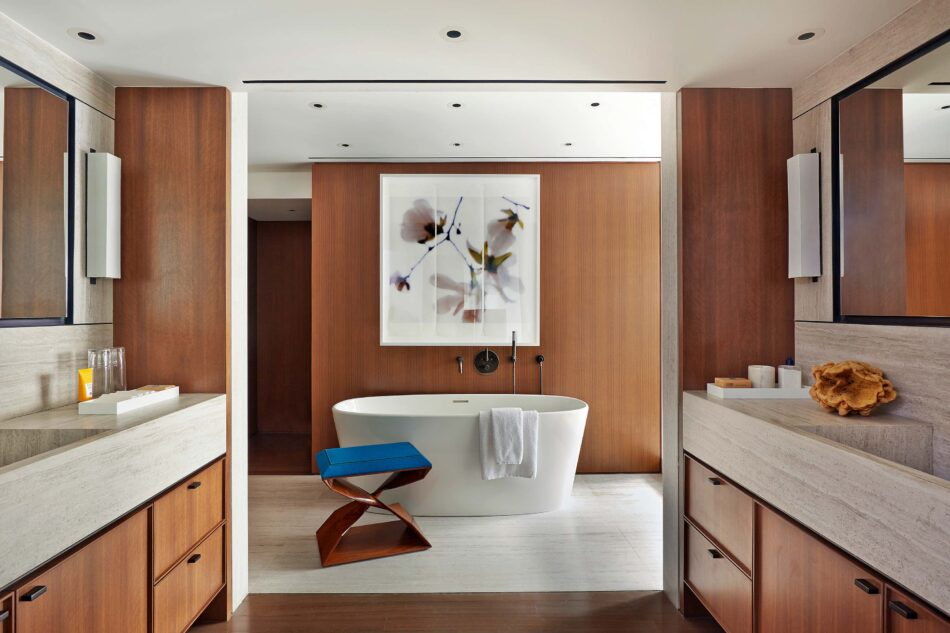 Groves & Co bathroom in New York