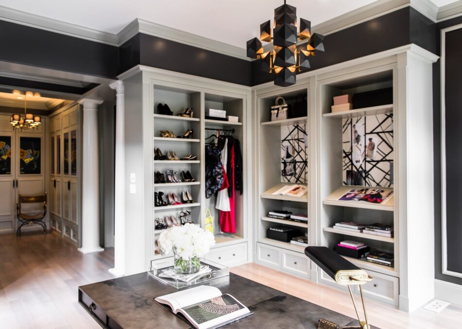 Closet and office by Catherine Kwong Design for the 2012 San Francisco Decorator Showcase