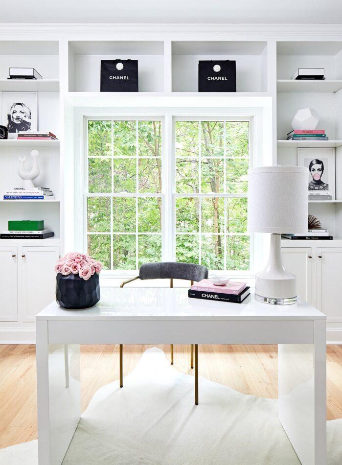 California home office by JWS Interiors