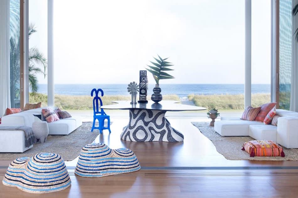 Long Island beach house by Kelly Behun