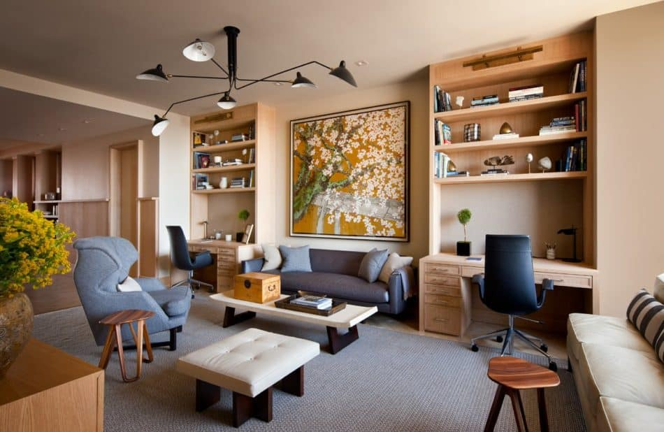 transitional living room by Shawn Henderson