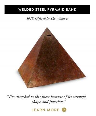 Welded Steel Pyramid Bank