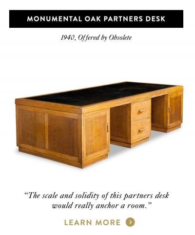 Monumental Oak Partners Desk