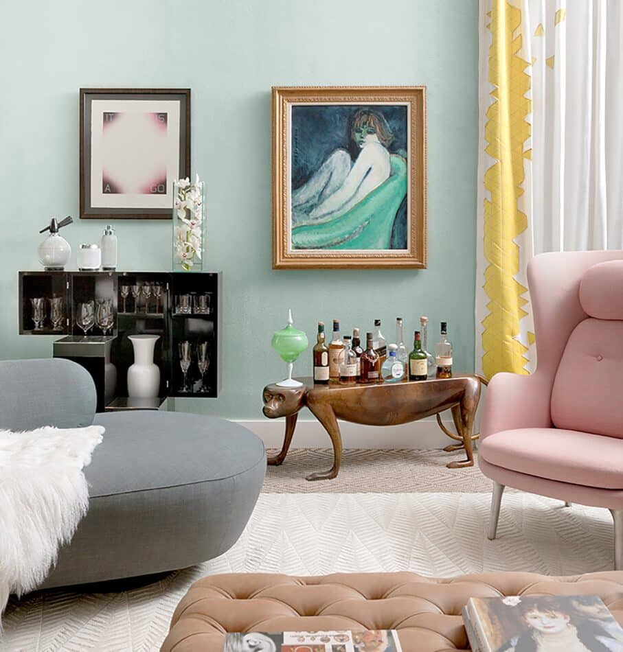 New York living room by Duan Curry