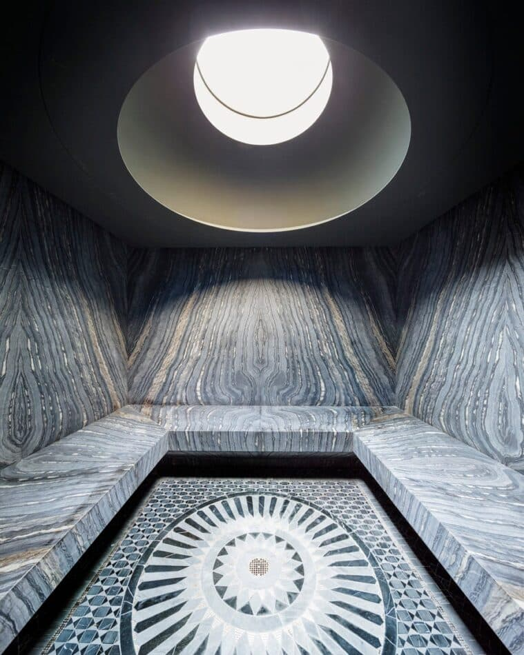 Marble Hammam by 1100 Architect