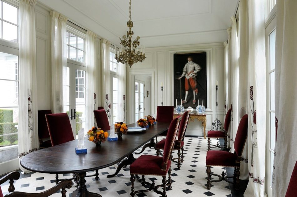Robert Couturier dining room