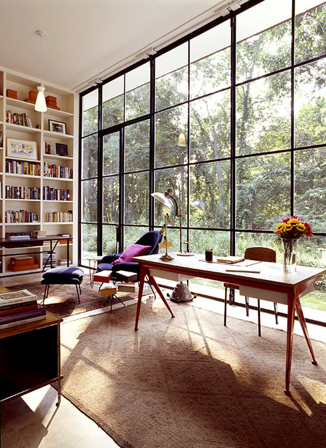eclectic-home-office