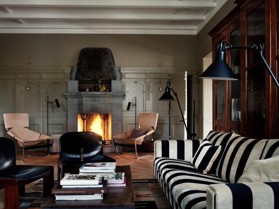 Studioilse living room in Stockholm
