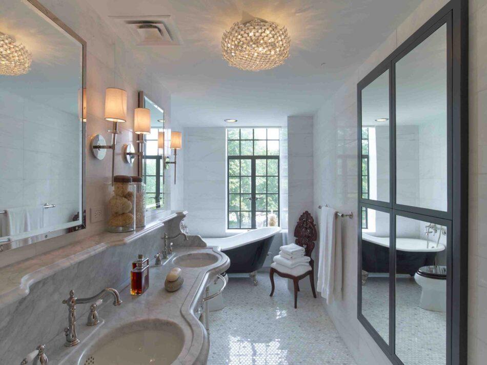MARKZEFF-designed bathroom in New York