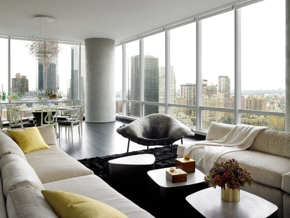MR Architecture living room in New York