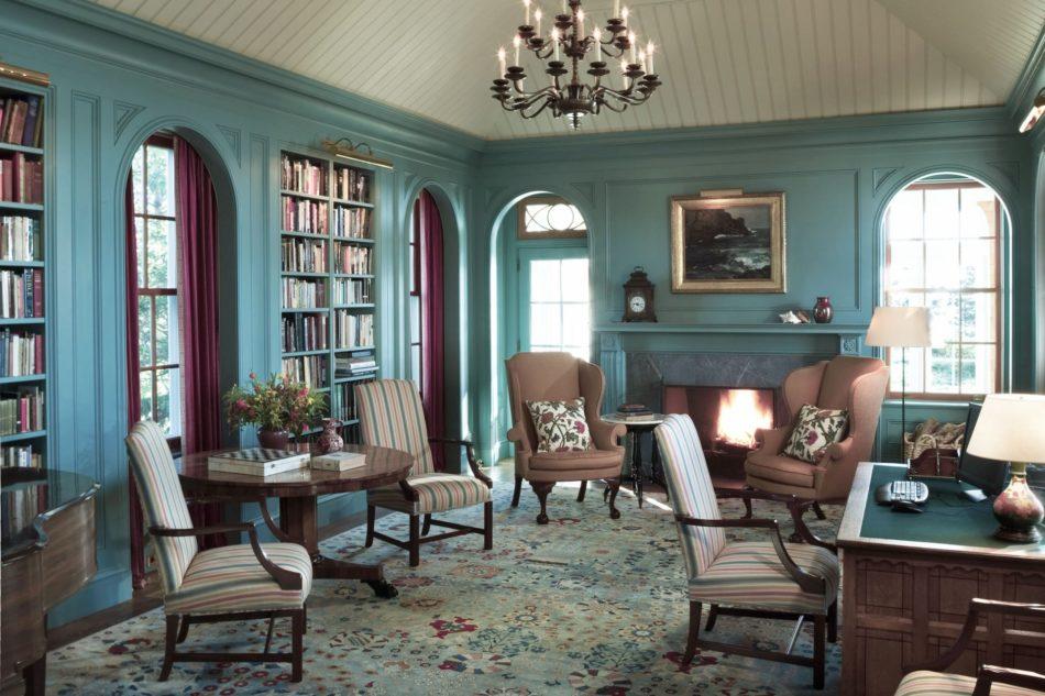 Jayne Design Studio turquoise room