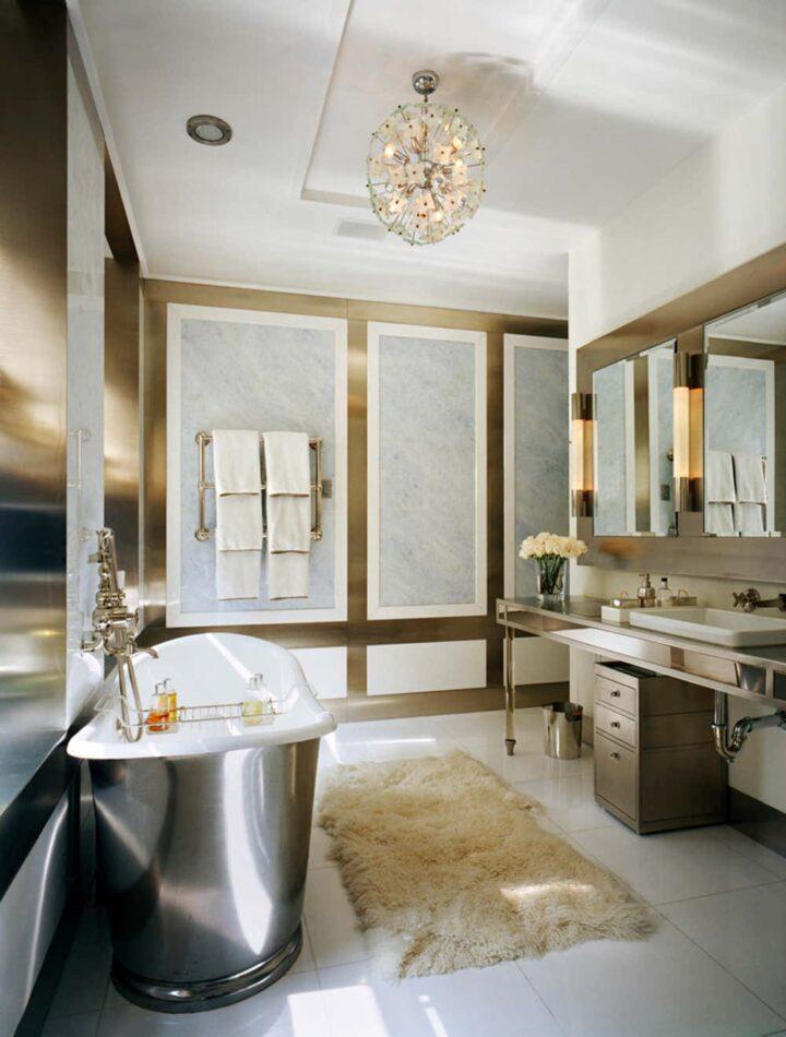 Fox-Nahem Associates bathroom in New York