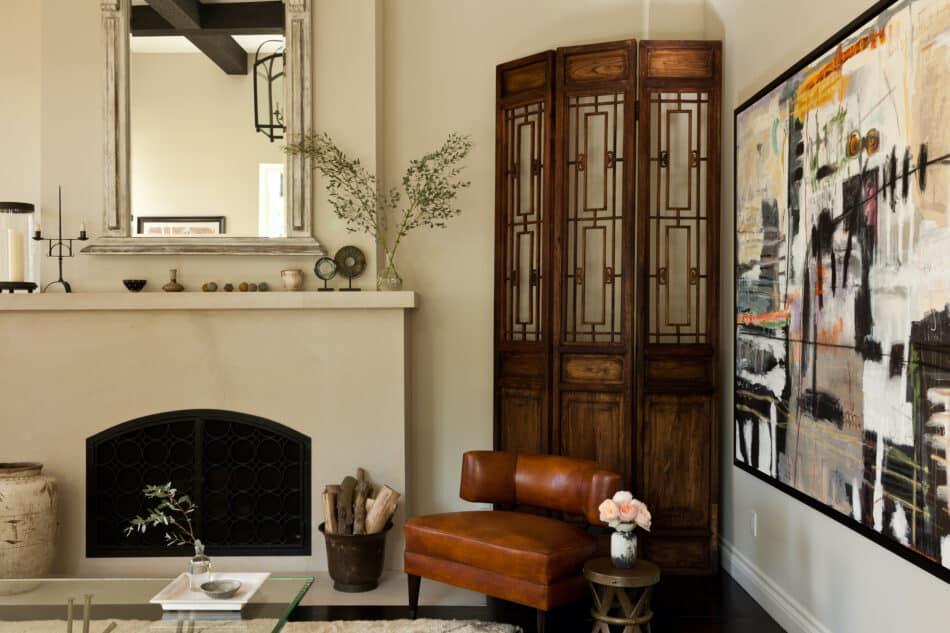 Wendy Haworth-designed living room in Los Angeles