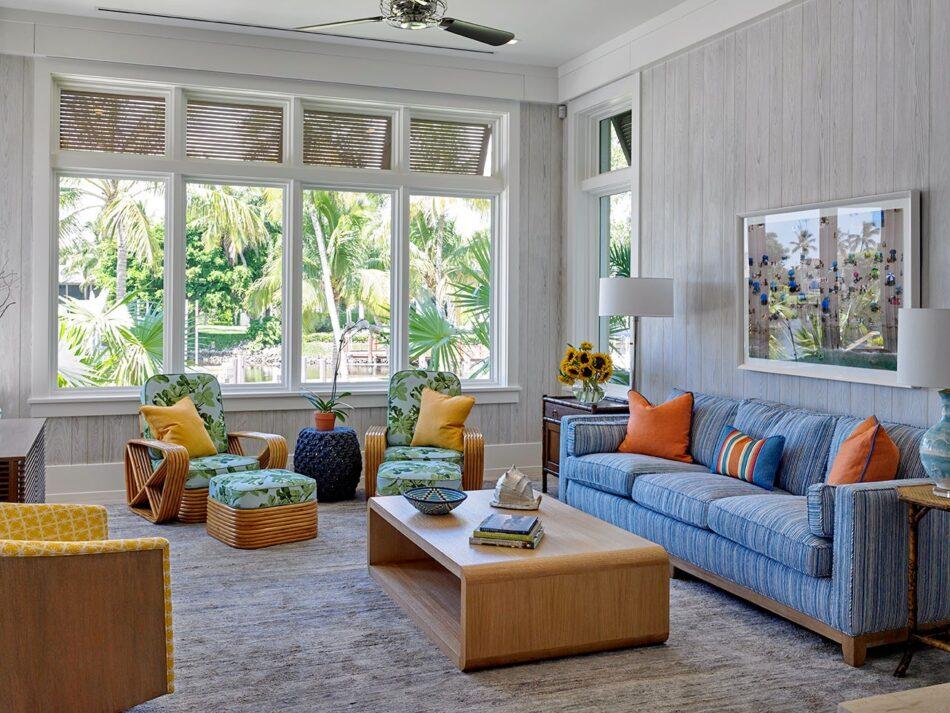 Soucie Horner pool house in Naples, FL
