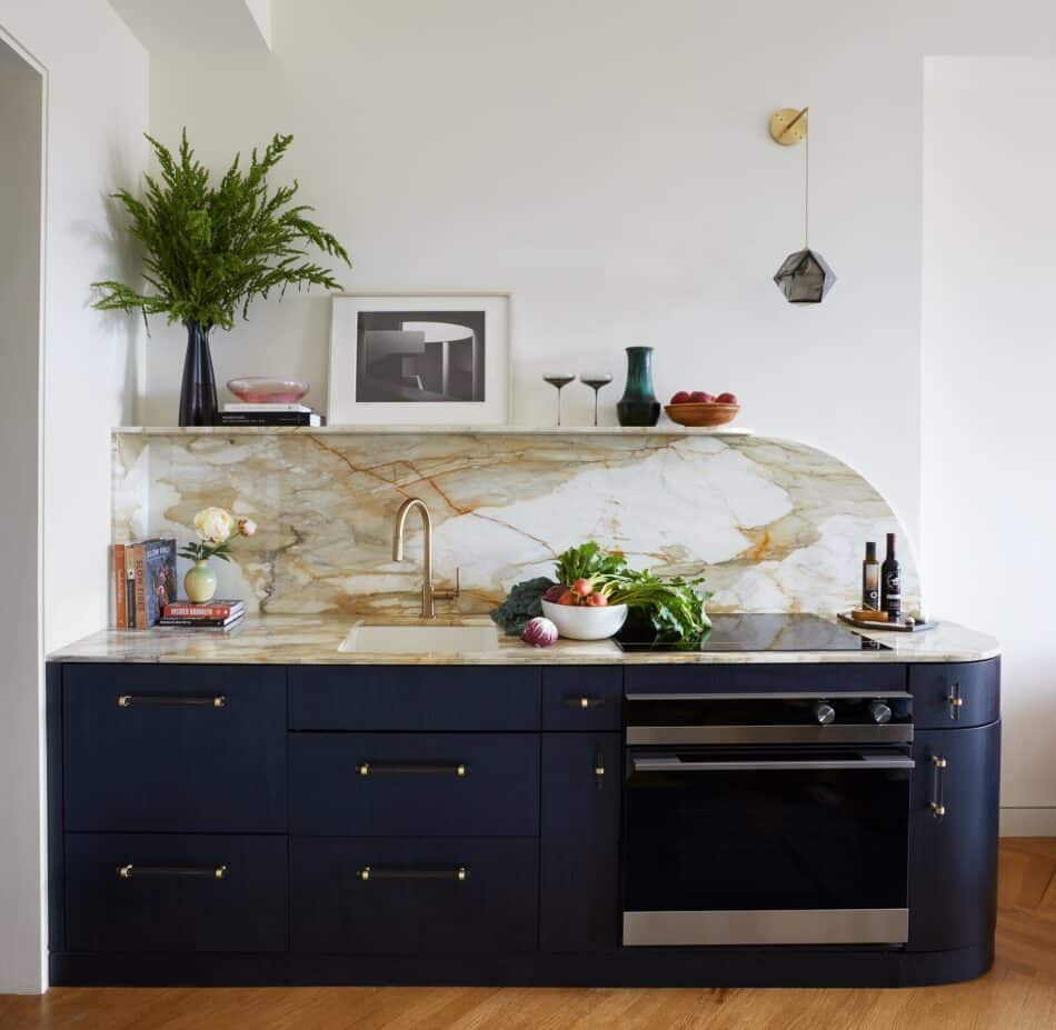 Downtown kitchen by JAM Architecture