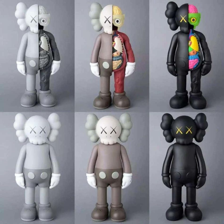 KAWS Companion complete set of six, 2016, offered by Lot 180