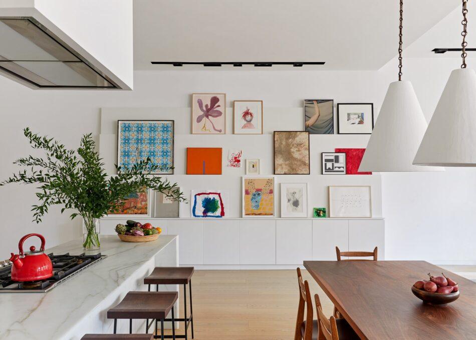 Dining room by Kelly Bergin