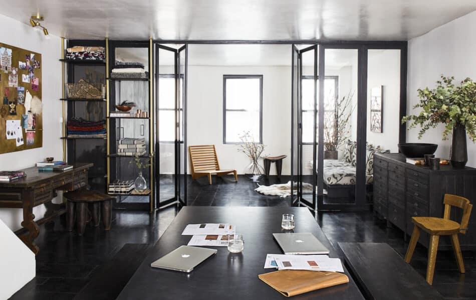 Laura Aviva's L'Aviva Home's Soho home and studio