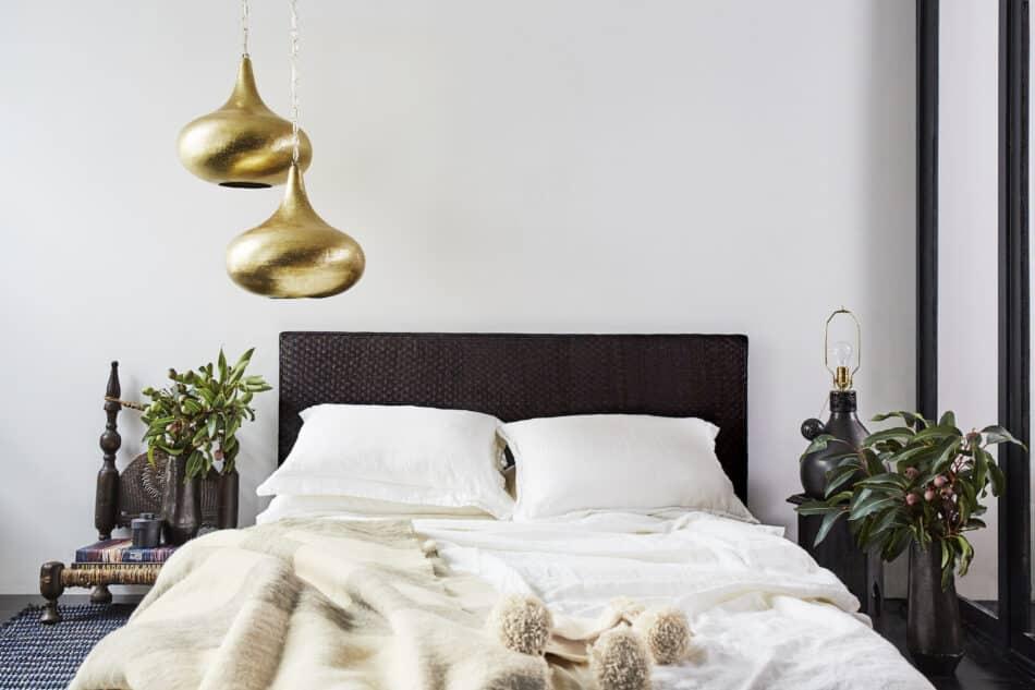 Lauren Aviva of L'Aviva Home's master bedroom