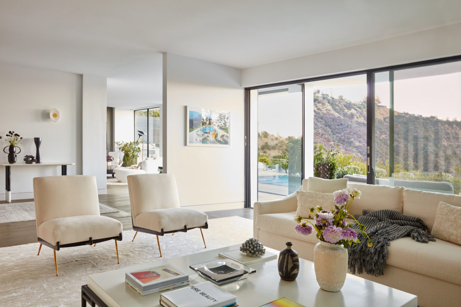 Sara Story living room in California