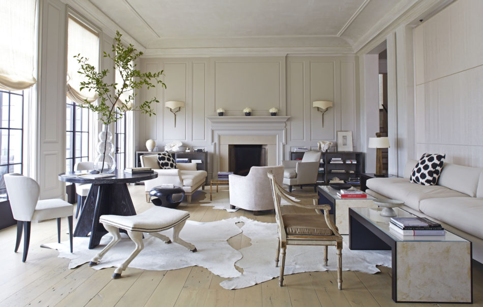 Birmingham, AL living room by Betsy Brown