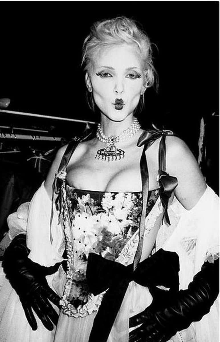 Vivienne Westwood Show, Paris, 1990s, by Roxanne Lowit.