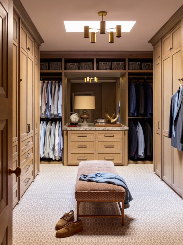 New Rochelle closet by Mendelson Group