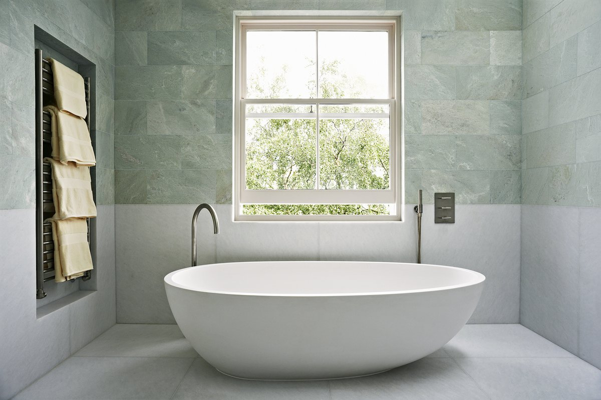 A London bathroom by Waldo Studio.