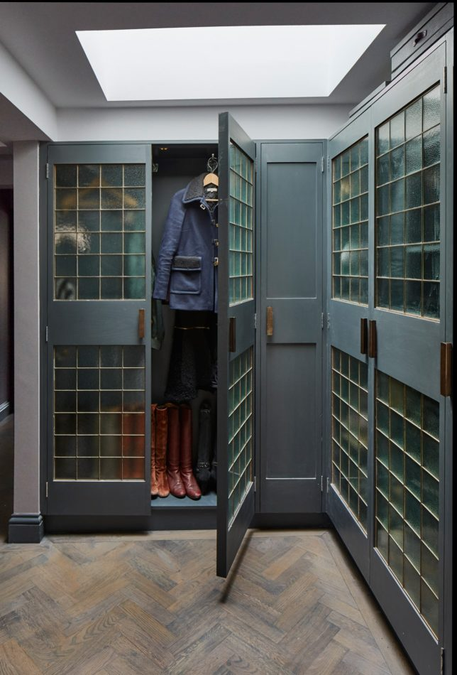 Sigmar-designed closet in West London