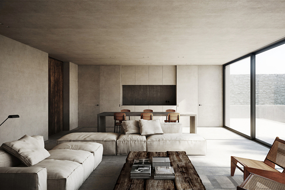minimalist-living-room-cap-dantibes-france-by-nicolas-schuybroek-architects