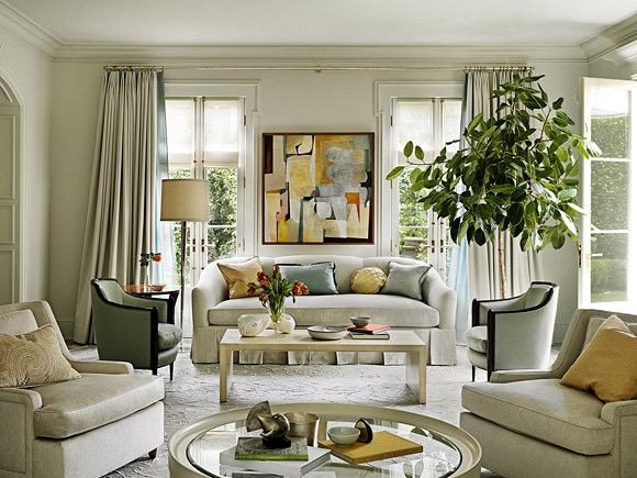 Charmant Top Interior Designers: Inside Their Homes
