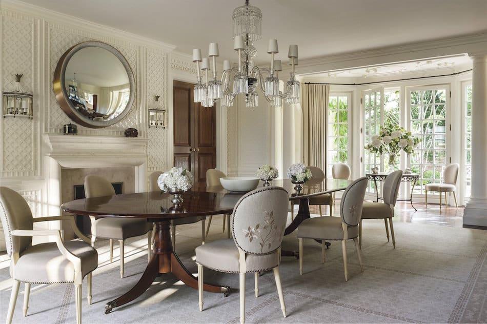 Southampton dining room by Thomas Pheasant
