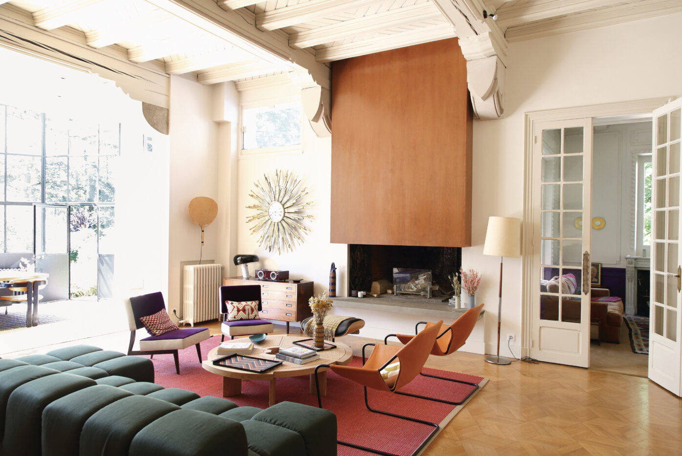 GoodMoods founder, Julia Rouzaud, lives in this sunny home 10 miles outside Paris