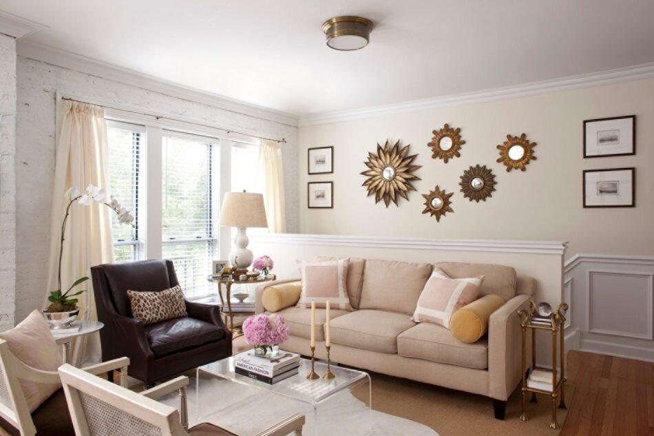Wendy Labrum's Chicago living room