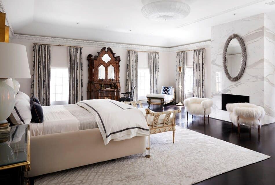 Master bedroom by Dennis Brackeen in Houston, TX