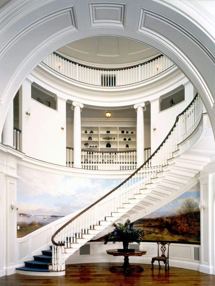Allan Greenberg stairway