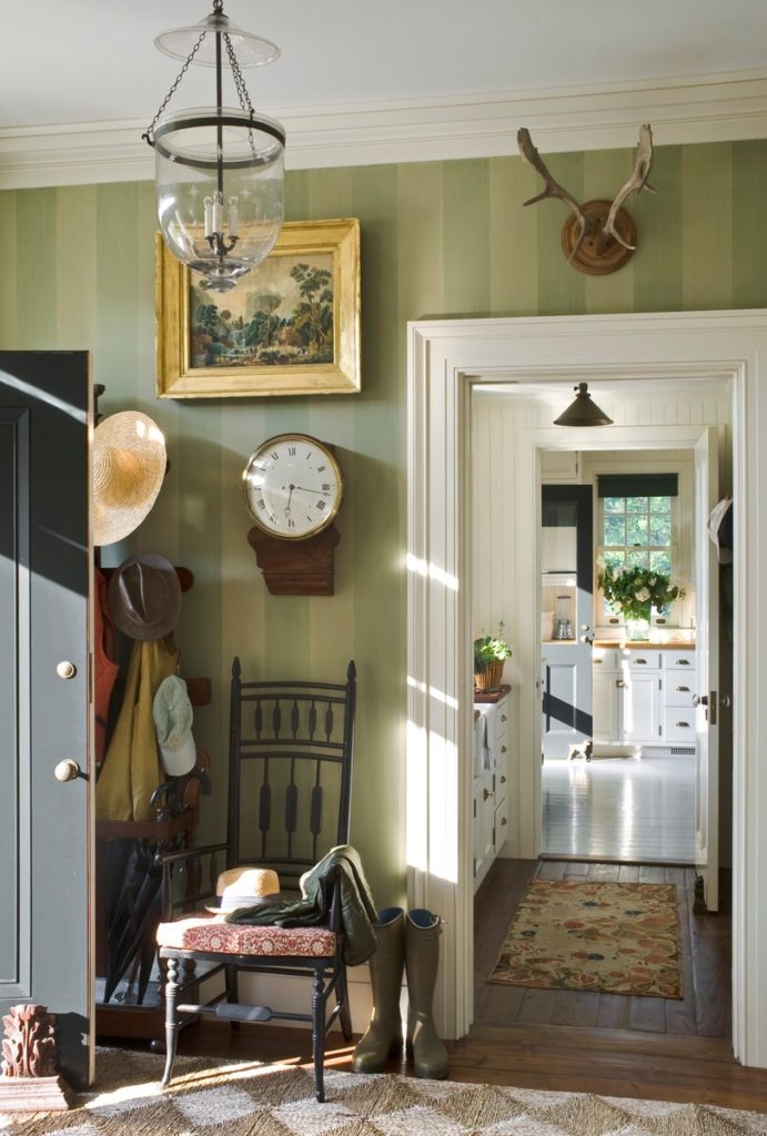 Hudson Valley mudroom by GP Schafer Architect