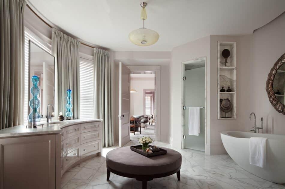 Thad Hayes-designed bathroom in Boston