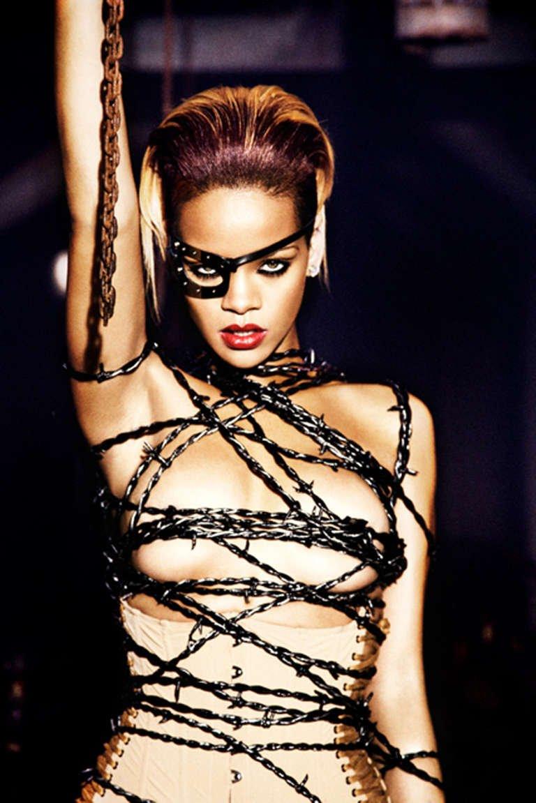 Rihanna, Berlin, 2009, by Ellen von Unwerth