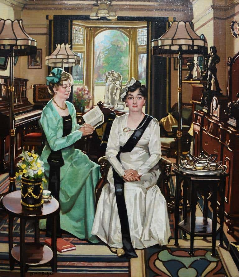 The Suffragettes, 20th century, by William Merrett Hodges